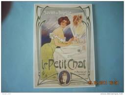 CLOUET  10636  SAVON DE TOILETTE LE PETIT CHAT   C.FERRIER  MARSEILLE - Advertising