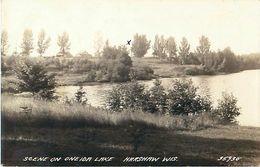 Cpa Photo HARSHAW  Wisconsin - Scene On Oneida Lake - Etats-Unis