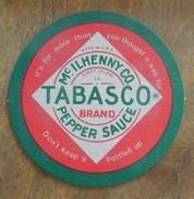 Sous-bocks  Tabasco Brand  Pepper Sauce  - Imprimé Recto Verso - Neuf  (Usine De Louisiane) - Beer Mats