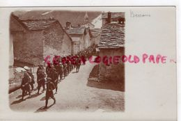 73 - BESSANS - BELLE CARTE PHOTO PRECURSEUR- CHASSEURS ALPINS - Frankrijk