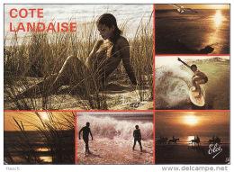 219aLa C?te Landaise, Nu Dans Les Dunes - Francia