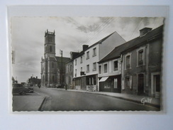 CPSM GABY 2 MONTAUBAN-DE-BRETAGNE La Grande Rue Et L'Hôtel De France - Altri Comuni