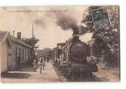 CPA 33 La Pointe De Grave La Gare Et Le Train - Francia