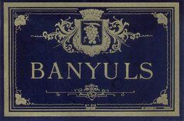 1 Etiquette Ancienne De VIN - BANYULS - Etiketten