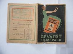 PORTANEGATIVO PUBBLICITARIO GEVAERT FILM-PACK. - Reclame