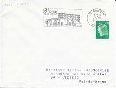 DROME  26  -  GRIGNAN  -  FLAMME N° 2363 - VOIR DESCRIPTION - 1969 - Postmark Collection (Covers)