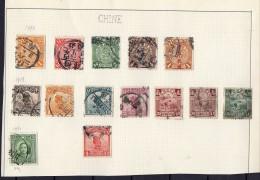 CHINE 1898-1913 Obl. - China