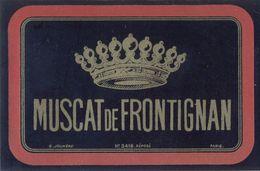 1 Etiquette Ancienne De MUSCAT DE FRONTIGNAN - Vin De Pays D'Oc