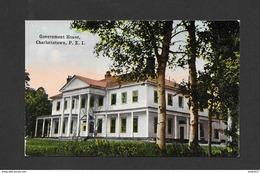 CHARLOTTETOWN - ILE DU PRINCE ÉDOUARD - P. E. I. - GOVERNMENT HOUSE - Charlottetown