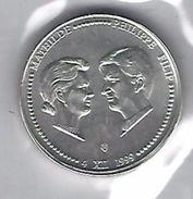 BELGIE - BELGIQUE 250 Frank / 250 Franc Huwelijk Mathilda & Filip 1999 - 1993-...: Albert II