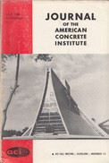 Journal Of The American Concrete Institute, July 1965, Proceedings V. 62 No. 7 - Architecture/ Design