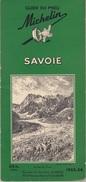 Guide Michelin Vert - Savoie 1953-1954 - Tourisme
