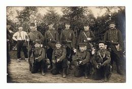 Carte Photo De Soldats Du 43ème RI De LILLE En 1912 - Manoeuvres