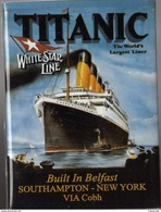 Magnet - TITANIC  White Star Line - Transport