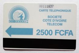 Cote D'Ivoire Télecarte Bande Magnétique - Côte D'Ivoire