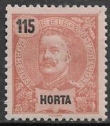 Horta - 1898 King Carlos 115 Réis - Horta
