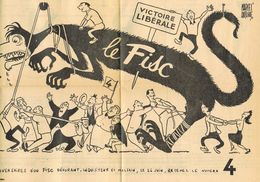 POLITIEK 1949 Propaganda Liberale Partij - Oude Documenten