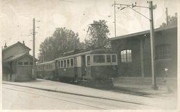 001372 Eisenbahn Gare L.E.B. Lausanne 1956 Linie Lausanne - Echallens - Bereher - Trains