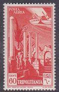 Italy-Colonies And Territories-Tripolitania A10  1931 Air Leptis Magna Ruines, 60c Orange, MH - Tripolitania