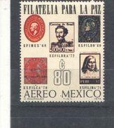 Messico PA 1973 Mostra Fil. Scott.C414+ See Scan Nuovi - Mexico
