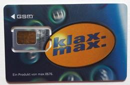 Autriche Carte GSM SIM Klax Max - Autriche