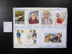 "1970-  "" 17 Werte ""  Echt Gelaufen, Gut Gestempelt   LOT 903 - Malta"