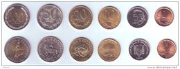 Albania 6 Coins Lot 1995-2000 - Albania