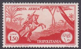 Italy-Colonies And Territories-Tripolitania A15  1931 Air Horseman, 1.50 Orange, MH - Tripolitania