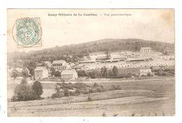 CPA Militaria 23 CAMP MILITAIRE  De La COURTINE Vue Panoramique 1905 - Caserme