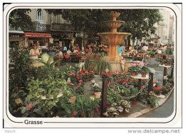610 B Grasse, Le March? Aux Fleurs - Grasse