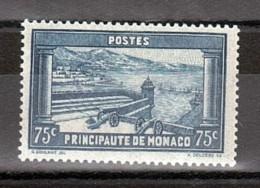 Monaco - 1933/37 - N° 125 - Neuf ** - Vue Prise De La Place Du Palais - Neufs