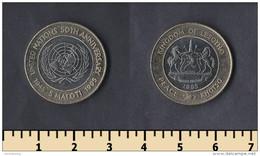 Lesotho 5 Maloti 1995 - Lesotho