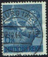DR  1943, 8 Jahre Arbeitsdienst, MI Nr 852  Gestempelt - Used Stamps