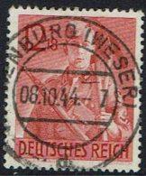 DR  1943, 8 Jahre Arbeitsdienst, MI Nr 853 Gestempelt - Used Stamps