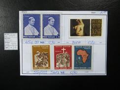 "1969  "" Satz+Pärchen ""  Postfrisch  LOT 904 - Vatikan"