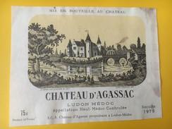 5473 - Câteau D'Agassac 1979 Ludon Médoc - Bordeaux