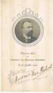 DEjeuner Offer à Monsieur Le Ministre Hubert 1908 - Menus
