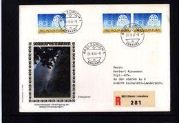 Schweiz / Switzerland 1982 Water Protection Interesting Cover - Umweltschutz Und Klima
