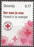 SI 2017-ZZ01 RED CROSS, SLOVENIA, 1 X 1v, MNH - Slovénie