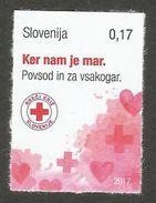 SI 2017-ZZ01 RED CROSS, SLOVENIA, 1 X 1v SELBSTICK, MNH - Slovénie