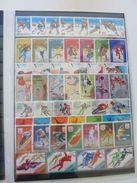 XJOLOT - Thème : Jeux Olympiques JO - Très Joli Lot (voir Scan) Contenant De Très Nombreux Timbres Et Blocs - Briefmarken