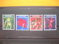 Lot De Timbre Année 1978 Série 462 A  à  462 D  Neuf** - Ivory Coast (1960-...)