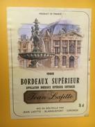 5482 -  Bordeaux Supérieur Jean Lafitte 1985 - Bordeaux