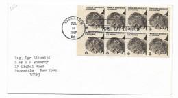 FIRST DAY OF ISSUE 8 FRANCOBOLLI 6 CENT. WASHINGTON 1967 - Stati Uniti