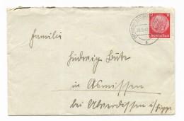 FRANCOBOLLO SU BUSTA DEUTSCHESREICH  12 CENT. 1940 - Germany
