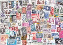 T VRAC - France, 2700 Timbres TOUS DIFFÉRENTS, Beau Lot Varié. - Stamps
