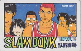 Télécarte Japon / 110-011 - MANGA - WEEKLY JUMP - SLAM DUNK - BASKET BALL - ANIME Japan Phonecard - 9437 - Comics