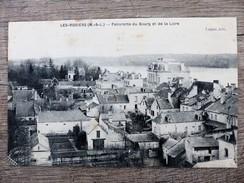 CPA LES ROSIERS SUR LOIRE PANORAMA Du Bourg Et De La Loire Circulée 1908 Ecrite - Otros Municipios