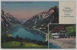 Klöntalersee Von Der Schwammhöhe Aus Gesehen - Gasthaus Rodannenberg - Photo: Schönwetter-Elmer - GL Glaris