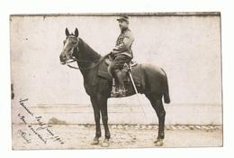 Cavalier Télégraphiste à SAUMUR Ecole D'application De Cavalerie 1910 - 1914-18